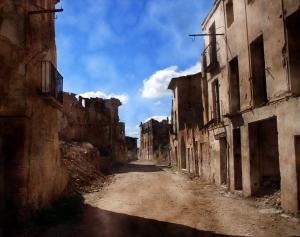 Calles de Belchite